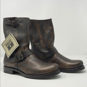Frye Veronica Shortie In Bronze
